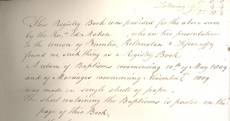 Bumlin Register